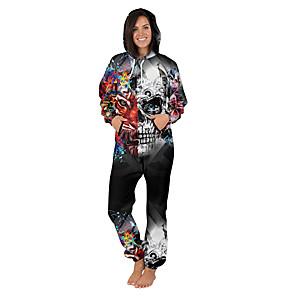 cheap Kigurumi Pajamas-Adults' Kigurumi Pajamas Galaxy Onesie Pajamas Flannel Fabric Yellow / Green / Blue Cosplay For Men and Women Animal Sleepwear Cartoon Festival / Holiday Costumes