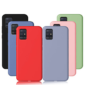 cheap Samsung Case-For Samsung Galaxy A51 A71 A80 A90 Case Liquid Silicone Soft TPU Cover For Samsung Galaxy A70 A50 A40 A30 A20 A10 A20e A7 2018 Case