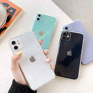 cheap iPhone Cases-Case For Apple iPhone 11 / iPhone 11 Pro / iPhone 11 Pro Max Shockproof Back Cover Transparent TPU