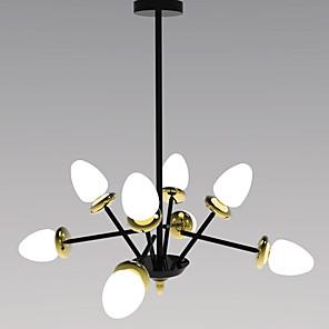 cheap Candle-Style Design-Factory OEM 8-Light 76 cm Sputnik Design / Single Design Chandelier Glass Painted Finishes Contemporary / Nordic Style 110-120V / 220-240V