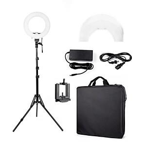 cheap Makeup Brush Sets-BRELONG Selfie Ring Light TikTok Light Youtube Video Night Light Photography Lights with Stand Mode Switching USB Port Power Supply
