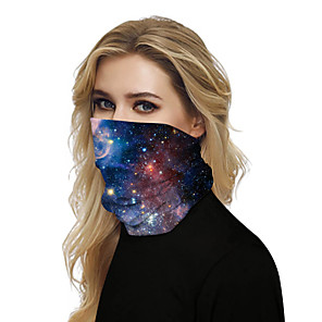 cheap Artificial Plants-Women's Bandana Balaclava Neck Gaiter Neck Tube UV Resistant Quick Dry Lightweight Materials Cycling Polyester for Men's Women's Adults / Pollution Protection / Floral Botanical Sunscreen / High Breat