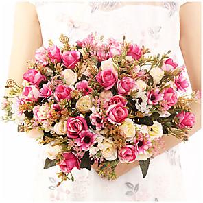 cheap Artificial Plants-Lai Roses Bouquet Home Decoration Eternal Roses Wedding Atmosphere Decoration Holding Flowers