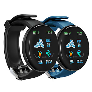 cheap Smart Wristbands-D18 Unisex Smart Wristbands Android iOS Bluetooth Touch Screen Heart Rate Monitor Blood Pressure Measurement Sports Information ECG+PPG Pedometer Activity Tracker Sleep Tracker Barometer