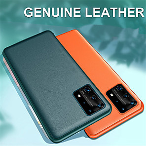 cheap Huawei Case-Luxury Leather Protection Case for Huawei P40 P40 Pro
