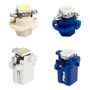 cheap Car Fog Lights-B8.4 B8.5 LED Car Gauges Light Led Dashboard 1 5050 Instrument 12V DC White Blue 10pcs