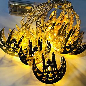 cheap LED String Lights-3m String Lights 20 LEDs 1 set Warm White / White / Multi Color Decorative 3 V
