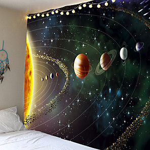 cheap Wall Tapestries-Wall Tapestry Art Decor Blanket Curtain Picnic Tablecloth Hanging Home Bedroom Living Room Dorm Decoration Galaxy Space Star Moon Sun Constellations Star Atlas