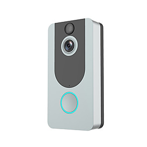 cheap Video Door Phone Systems-Visual Recording Remote Smart Wireless WiFi Security Eye Door Bell