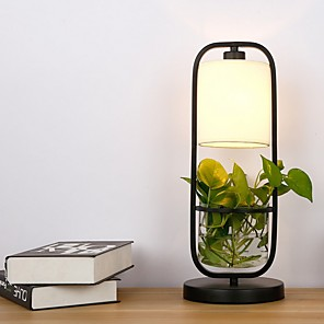 cheap Table Lamps-Table Lamp Creative / Decorative Modern Contemporary For Bedroom 220V Black