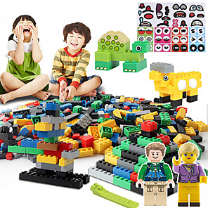cheap Building Blocks-Building Blocks Educational Toy Construction Set Toys 500 pcs compatible Legoing DIY Classic Classic & Timeless Chic & Modern High Quality Boys' Girls' Toy Gift / Kid's