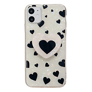 cheap iPhone Cases-Case For Apple iPhone 11 / iPhone 11 Pro / iPhone 11 Pro Max Ring Holder / Pattern Back Cover Cartoon TPU
