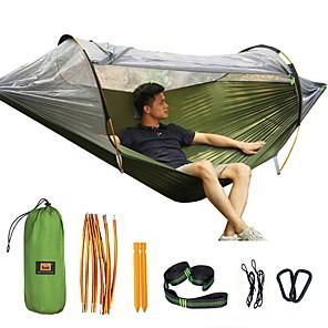 povoljno Namještaj za kampiranje-vanjska mreža protiv komaraca dvostruka krpa za padobrane komarce ljuljačka unutarnji svjetlosni šator novo