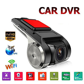 cheap Car DVR-Ultra HD Car Dash Cam 1080P with Night Vision Parking Monitor Loop Recording Motion Detection