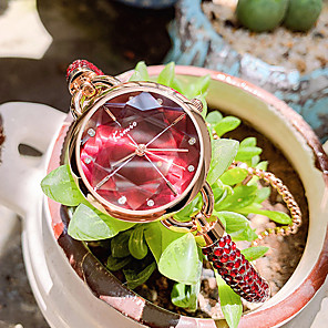 cheap Quartz Watches-Women's Quartz Watches Casual Fashion Alloy Chinese Quartz Red Green Blue Water Resistant / Waterproof 30 m Analog One Year Battery Life