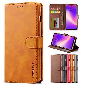 cheap Xiaomi Case-lc.imeeke Luxury Leather Case For Xiaomi Redmi Note 8 Pro Note 7 Mi 9T Redmi 8A Redmi 8 Note 8T K20 Pro Flip Wallet Magnetic Card Stand Cover