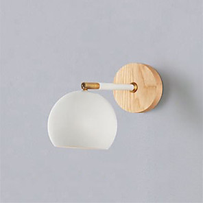 cheap Indoor Wall Lights-Anti-Glare / New Design Modern / Nordic Style Wall Lamps & Sconces Living Room / Bedroom Metal Wall Light IP20 110-120V / 220-240V 60 W