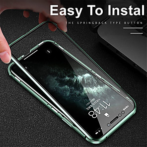 cheap iPhone Cases-Magnetic Case For iPhone11 iPhone11Pro iPhone 11Pro Max Adsorption Tempered Glass Double Sided 360 Protective Case for Apple iPhone