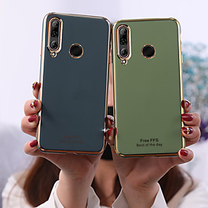 cheap Huawei Case-Case For Huawei Huawei P30 / Huawei P30 Pro / Huawei P30 Lite Frosted Back Cover Tile TPU