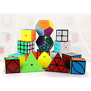 cheap Magic Cubes-Speed Cube Set Magic Cube IQ Cube Pyramid Mirror Cube Magic Cube Stress Reliever Puzzle Cube Kid's Toy Unisex Gift