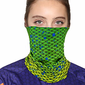 cheap Abstract Paintings-Women's Bandana Balaclava Neck Gaiter Neck Tube UV Resistant Quick Dry Lightweight Materials Cycling Polyester for Men's Women's Adults / Pollution Protection / Floral Botanical Sunscreen / High Breat