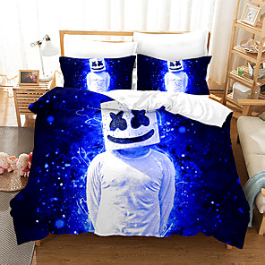 cheap 3D Duvet Covers-Home Textiles 3D Bedding Set  Duvet Cover with Pillowcase 2/3pcs Bedroom Duvet Cover Sets  Bedding