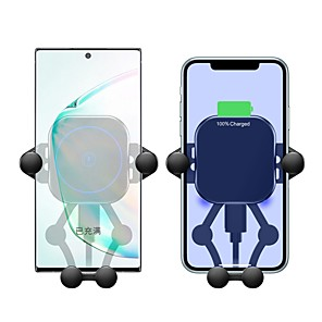 cheap Wireless Chargers-15/10/7.5/5 W Wireless Charger USB Charger USB LED Lights / with Cable / Multi-Output 1 USB Port 2 A / 1 A / 1.67 A DC 12V / DC 9V / DC 5V for Apple Watch Series 3 / Apple Watch Series 2 / Apple