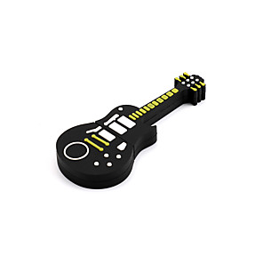 cheap USB Flash Drives-LITBest 128GB Yellow guitar USB Flash Drives USB 2.0 Creative For Car