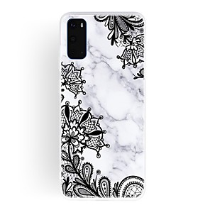 cheap Samsung Case-Case For Samsung Galaxy A20e/Galaxy A10s/Galaxy A20s Ultra-thin / Frosted / Pattern Back Cover Flower / Marble TPU For Galaxy A01/A11/A21/A41/A51/A71/A81/A91/S20/S20 Plus/S20 Ultra