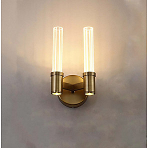 cheap Indoor Wall Lights-Matte / Eye Protection LED / Nordic Style LED Wall Lights Bedroom / Dining Room Metal Wall Light 110-120V / 220-240V 4 W