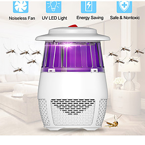 cheap Disinfection & Sterilizer-Electric Mosquito Killer Lamp Led Insect Muggen Mug Killer Anti Mosquito Trap Repellent Lamp USB Bug Zapper Fly Watter Light