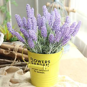 cheap Artificial Plants-33cm Artificial Flower Lavender Home Decoration Wedding 1 stick