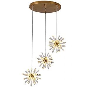 cheap Pendant Lights-QIHengZhaoMing 57 cm Cluster Design Pendant Light Metal Modern 110-120V / 220-240V