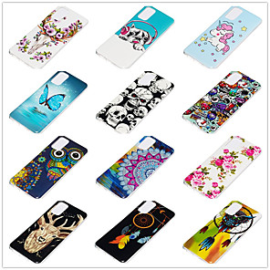 cheap Samsung Case-Case for Samsung scene map Samsung Galaxy S20 S20 PLUS S20Ultra A51 A71 Cartoon flower pattern shiny TPU material IMD process luminous all-inclusive mobile phone case