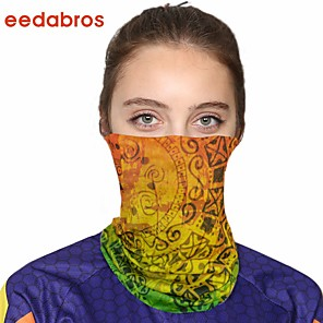 cheap Smartwatch Bands-Women's Bandana Balaclava Neck Gaiter Neck Tube UV Resistant Quick Dry Lightweight Materials Cycling Polyester for Men's Women's Adults / Pollution Protection / Floral Botanical Sunscreen / High Breat