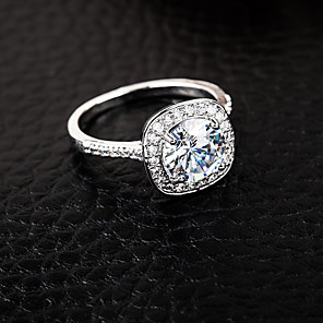 cheap Necklaces-Women's Ring 1pc Silver Alloy Elegant Holiday European Festival Jewelry