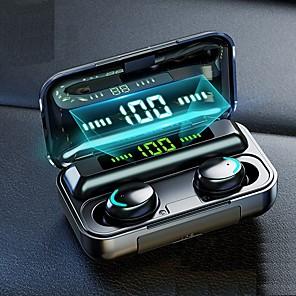 Χαμηλού Κόστους Διανομείς & ΔιακόπτεςUSB-f9-5 tws 5.0 touch bluetooth earbuds stereo hd handsfree ασύρματα ipx7 αδιάβροχα ακουστικά business gaming ακουστικά με οθόνη LED