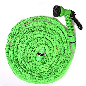 cheap Sprayer Guns-Telescopic Car Wash Hose 50ft 5-15 Meters 100ft Car Wash Water Gun Set Watering Gardening Water Gun
