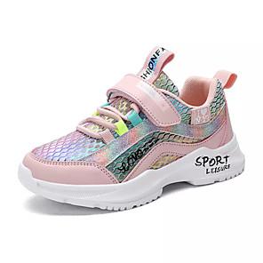 povoljno Seksi donje rublje-Djevojčice Udobne cipele PU Atletičarke tenisice Velika djeca (7 godina +) Hodanje purpurna boja / Pink Ljeto / Guma