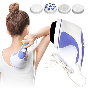 cheap Portable Speakers-Powerful  Body Massager 4 Massage Heads Slimming Full Body Massage Device Body Slimming