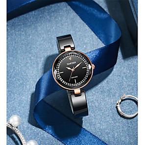 cheap Quartz Watches-Women's Quartz Watches Luxury Fashion Ceramic Japanese Quartz Black Water Resistant / Waterproof Noctilucent 30 m Analog One Year Battery Life