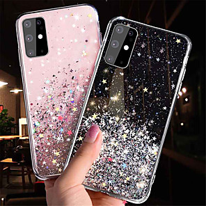 cheap Samsung Case-Glitter Bling Sequins Case for Samsung Galaxy S20 S20 Plus S20 Ultra S10 S10 Plus S9 S9 Plus A51 A71 A81 A91 A10 A20 A30 A40 A50 A70 A10S A20S