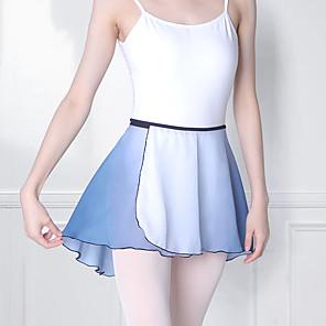 cheap Kids' Dancewear-Kids' Dancewear Skirts Cascading Ruffles Girls' Training Performance Nylon