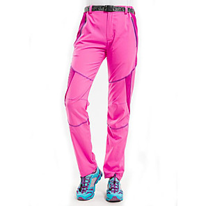 cheap Hiking Trousers & Shorts-Women's Hiking Pants Summer Outdoor UV Resistant Breathable Quick Dry Ultra Light (UL) Pants / Trousers Bottoms Purple Blue Pink Camping / Hiking Hunting Fishing S M L XL XXL / Wear Resistance