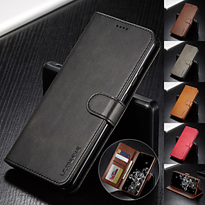 cheap Samsung Case-Luxury Leather Flip Wallet Case For Samsung Galaxy A50 A81 A01 A51 A71 A91 A41 A21 A11 A90 A80 A70 E A60 A50 A40 A30 A20 A10 Magnetic Card Stand Cover