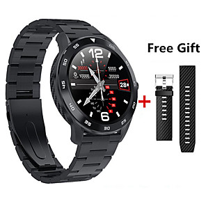 cheap Smartwatches-DT98 Smart Watch Waterproof Women Men Smartwatch Round Heart Rate Pedometer Call Message Reminder Watch Sleep Including watch