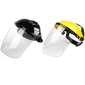 cheap Face Masks-PC Raw Materials Transparent Lens Anti-UV Anti-shock Welding Helmet Face Shield Solder Mask Welding mask Moyorcycle Scooter Glasses