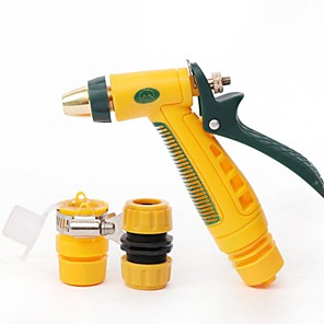 cheap Sprayer Guns-Household High Pressure Car Wash Water Gun Set Car Wash Water Gun Garden Watering Spray Gun Spray Gun One Generation