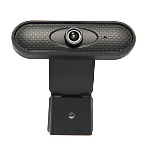 cheap CCTV Cameras-USB HD Webcam Digital Video Web Cam Camera Microphone Clip Manual Adjustable Webcam for Computer PC Laptop Desktop INQMEGA