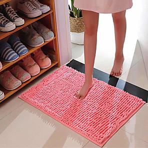cheap Bathroom Gadgets-40*60CM Door Mat Home Anti Slip Portable Floor Mat Living Room Chenille Soft Water-Absorbing Foot Pad Comfortable Bathroom Kitchen